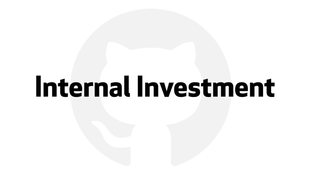 ! Internal Investment