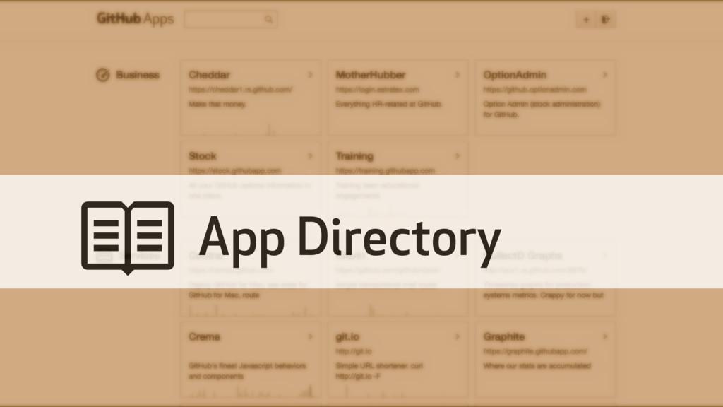 # App Directory