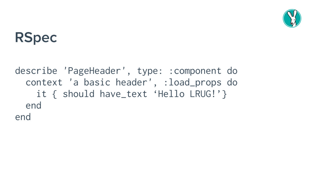 describe 'PageHeader', type: :component do cont...
