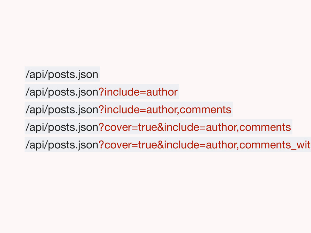 /api/posts.json /api/posts.json?include=author ...