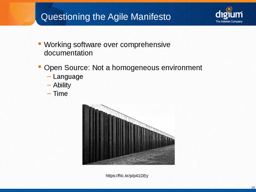18 Questioning the Agile Manifesto  Working so...