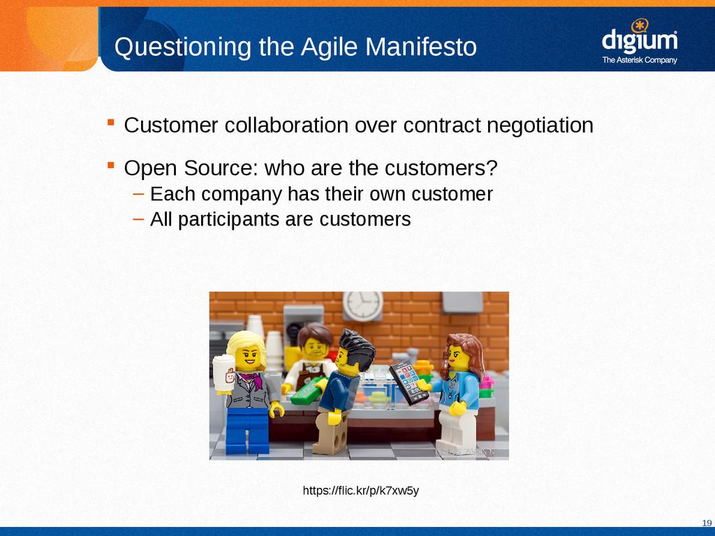 19 Questioning the Agile Manifesto  Customer c...