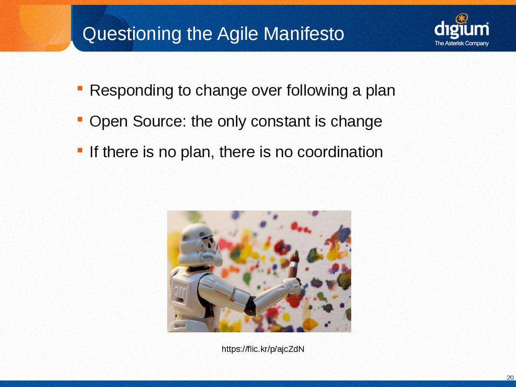 20 Questioning the Agile Manifesto  Responding...