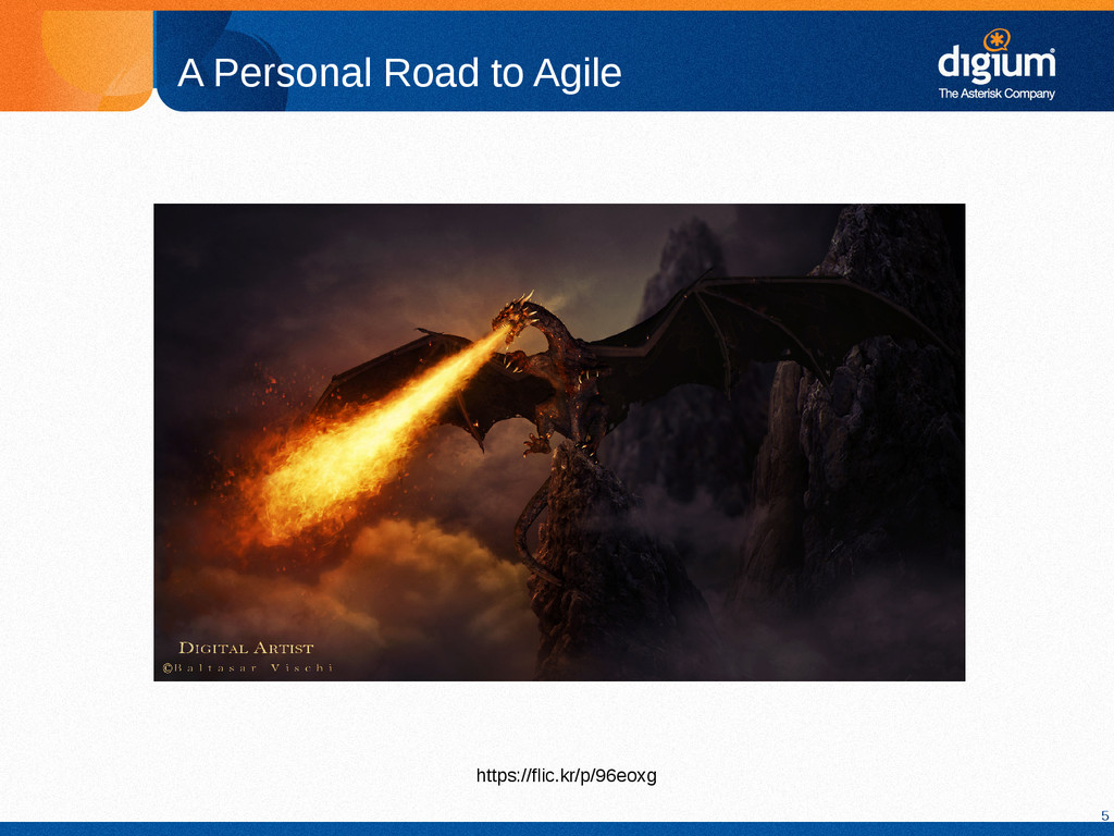 5 A Personal Road to Agile https://flic.kr/p/96...