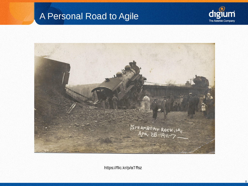8 A Personal Road to Agile https://flic.kr/p/aT...