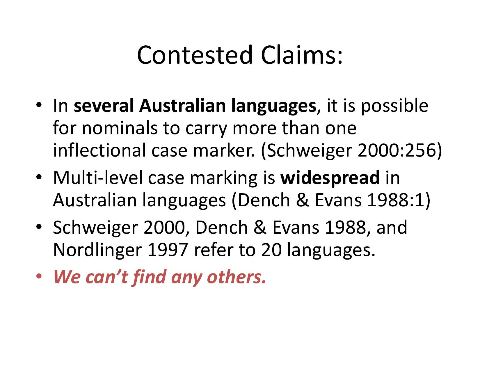 """Conclusions/recommendations • terms like """"rare..."""
