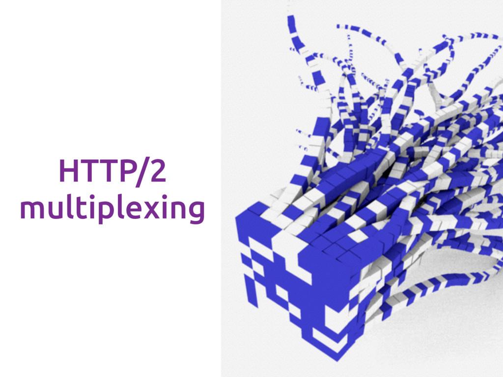 HTTP/2 multiplexing
