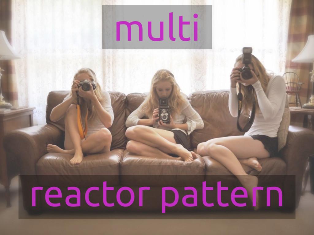 reactor pattern multi