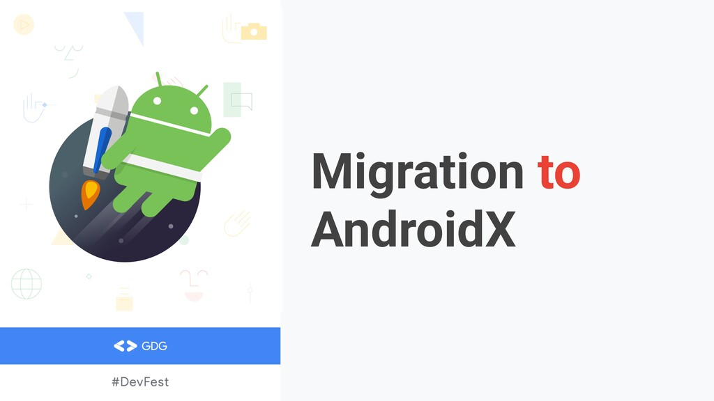 Migration to AndroidX