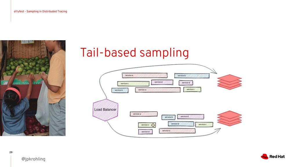o11yfest - Sampling in Distributed Tracing @jpk...