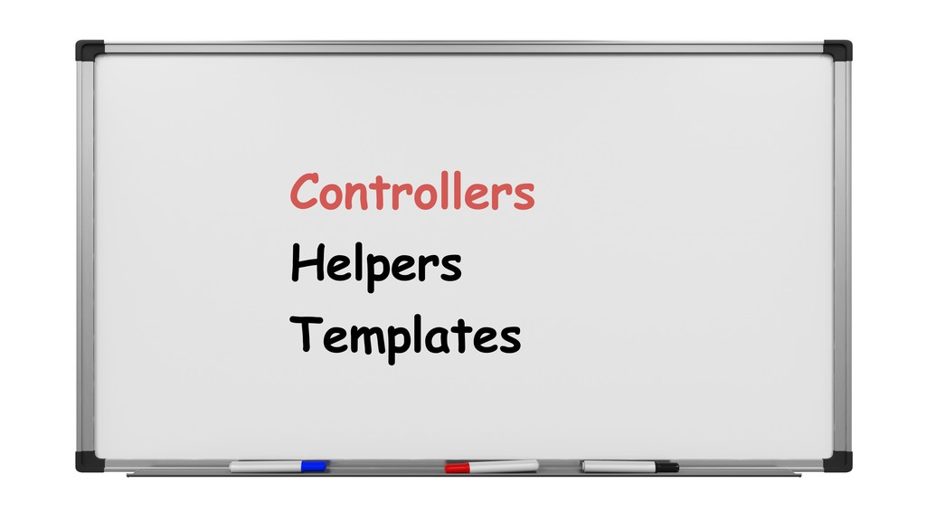 Controllers Helpers Templates