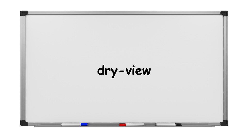 dry-view