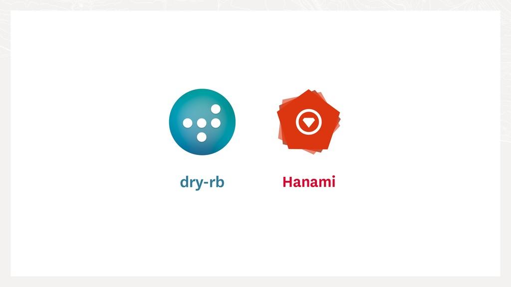 dry-rb Hanami