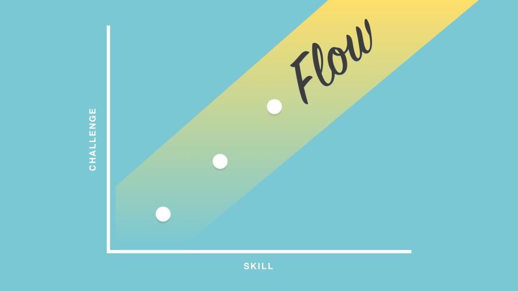 CHALLENGE SKILL Flow