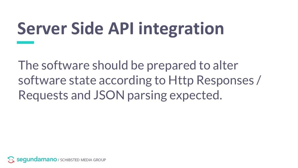 / SCHIBSTED MEDIA GROUP Server Side API integra...