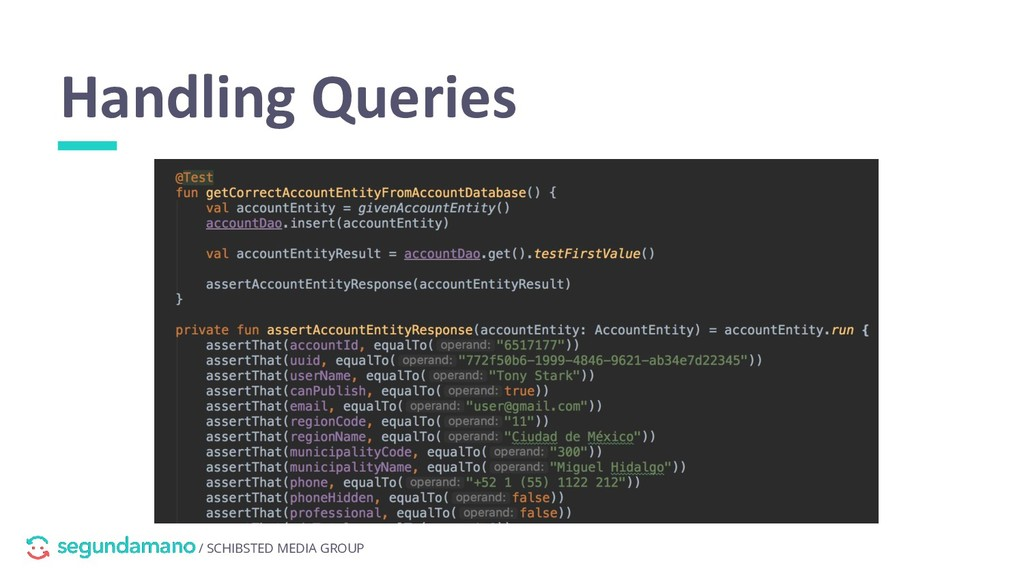 / SCHIBSTED MEDIA GROUP Handling Queries hiding...