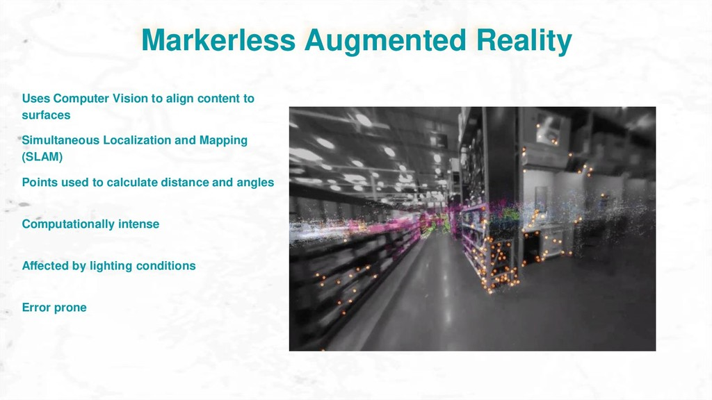 Markerless Augmented Reality Simultaneous Local...