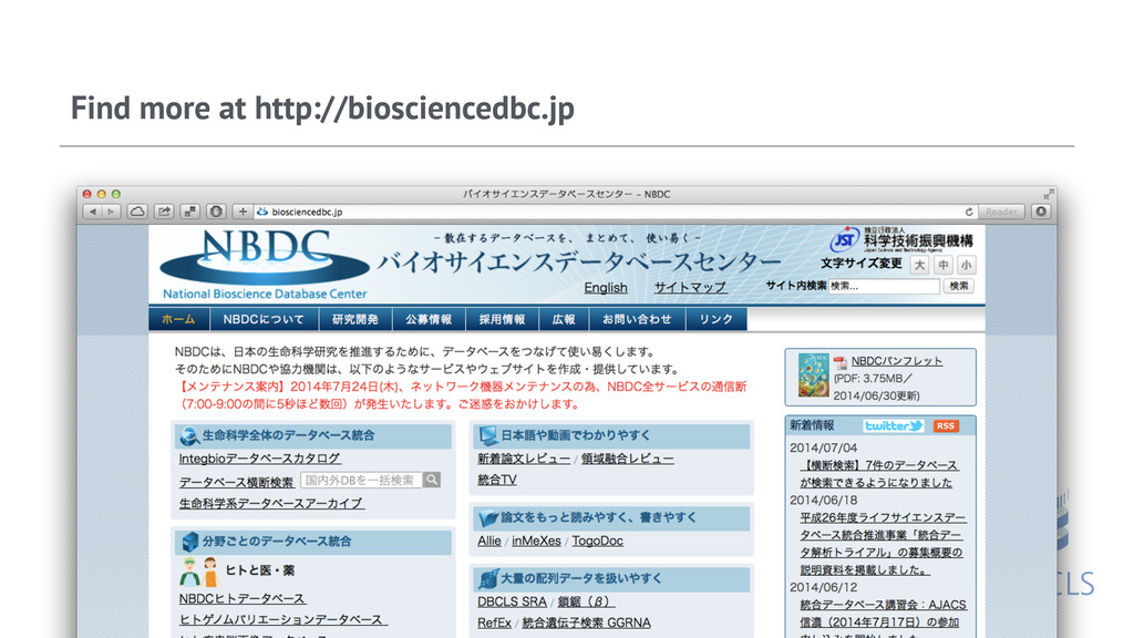 Find more at http://biosciencedbc.jp