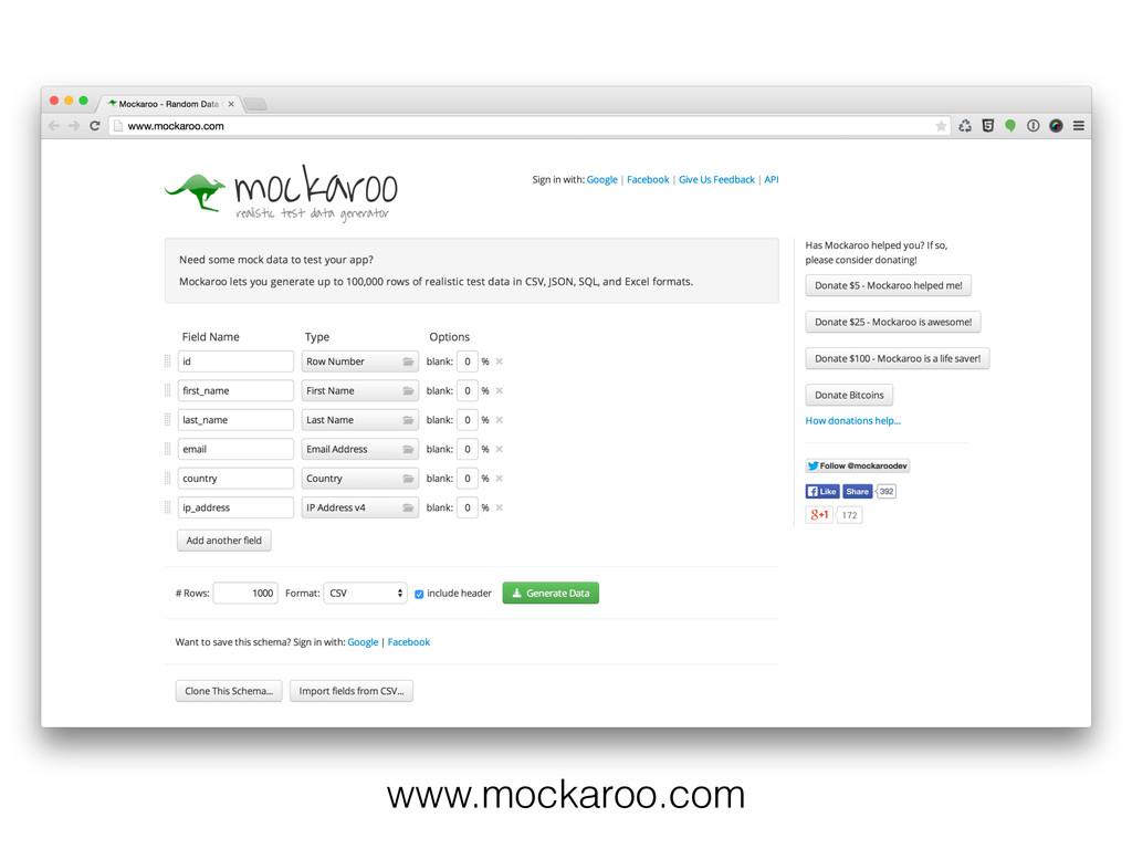 www.mockaroo.com
