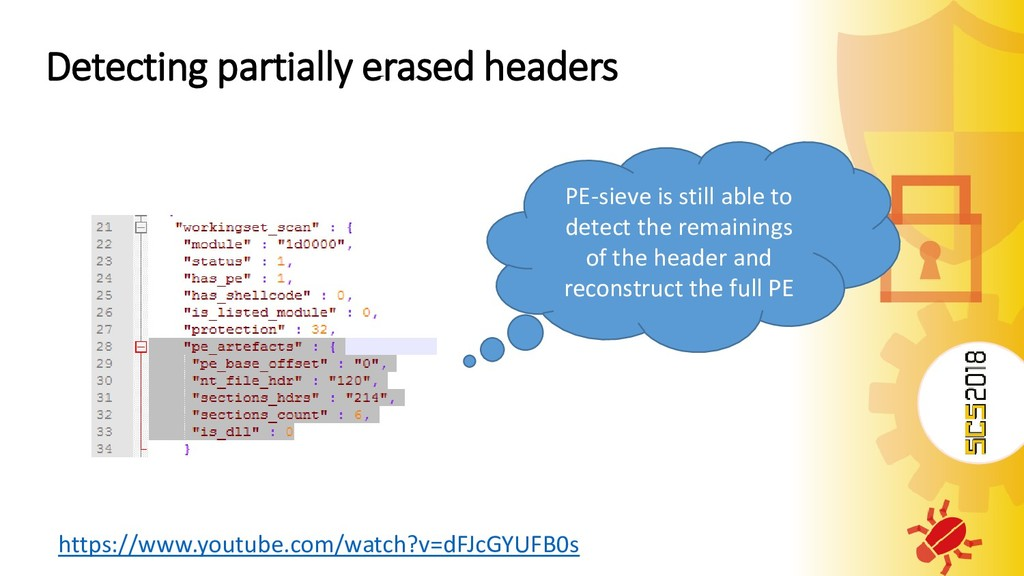 Detecting partially erased headers https://www....