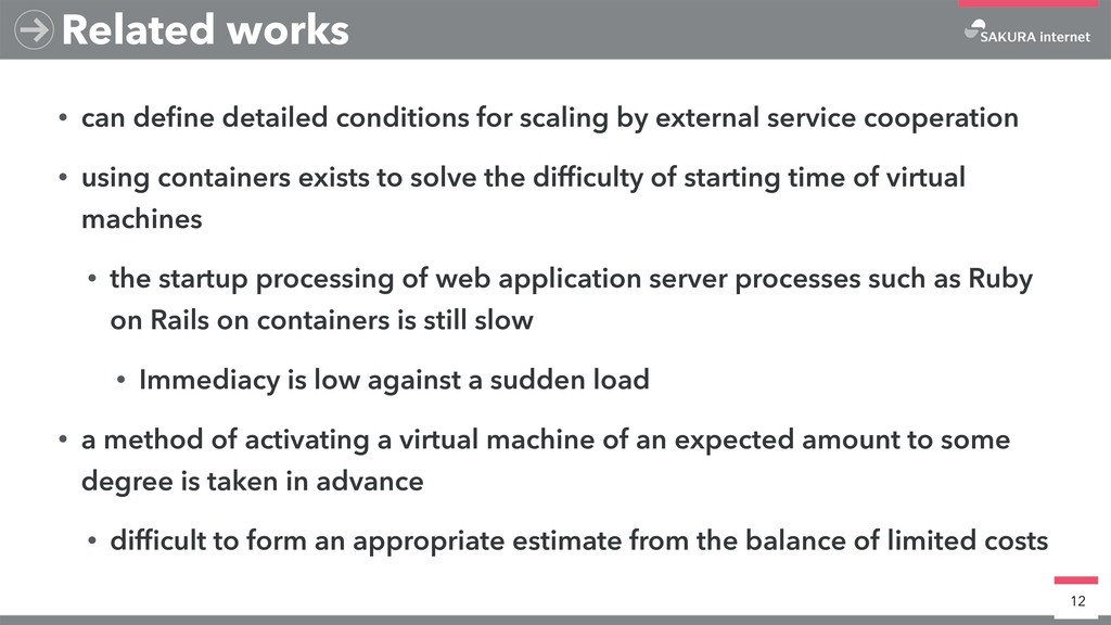 • can define detailed conditions for scaling by ...