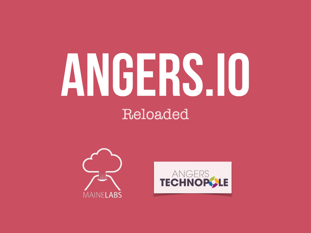 Angers.io Reloaded