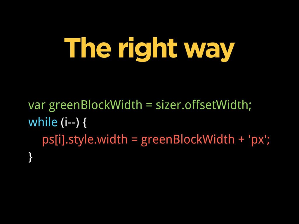 The right way var greenBlockWidth = sizer.offse...