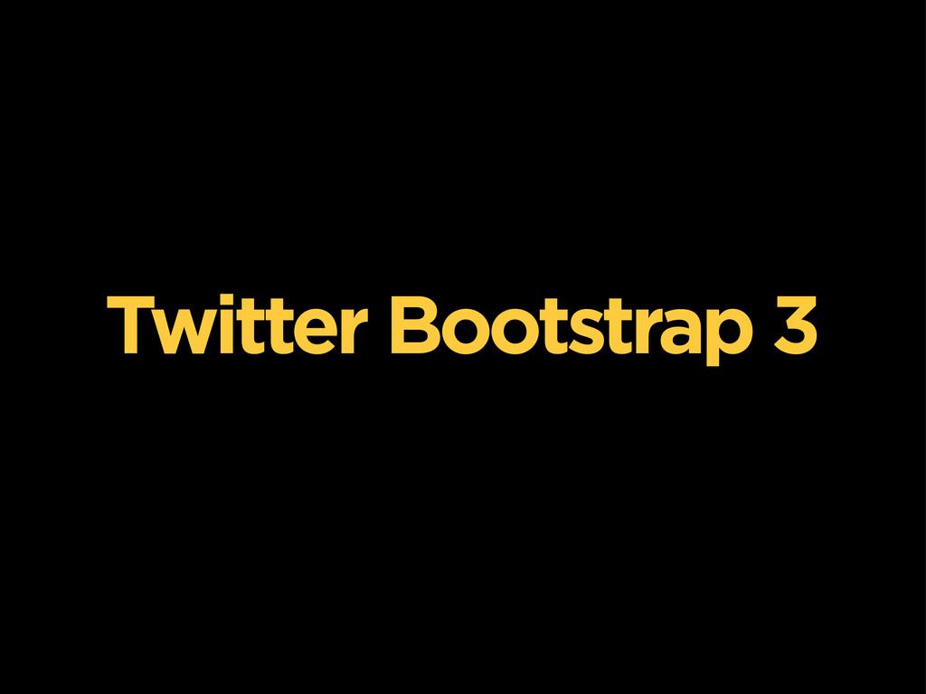 Twitter Bootstrap 3