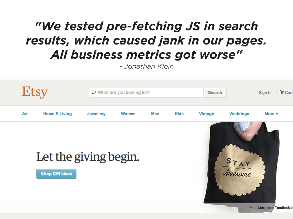 """We tested pre-fetching JS in search results, w..."