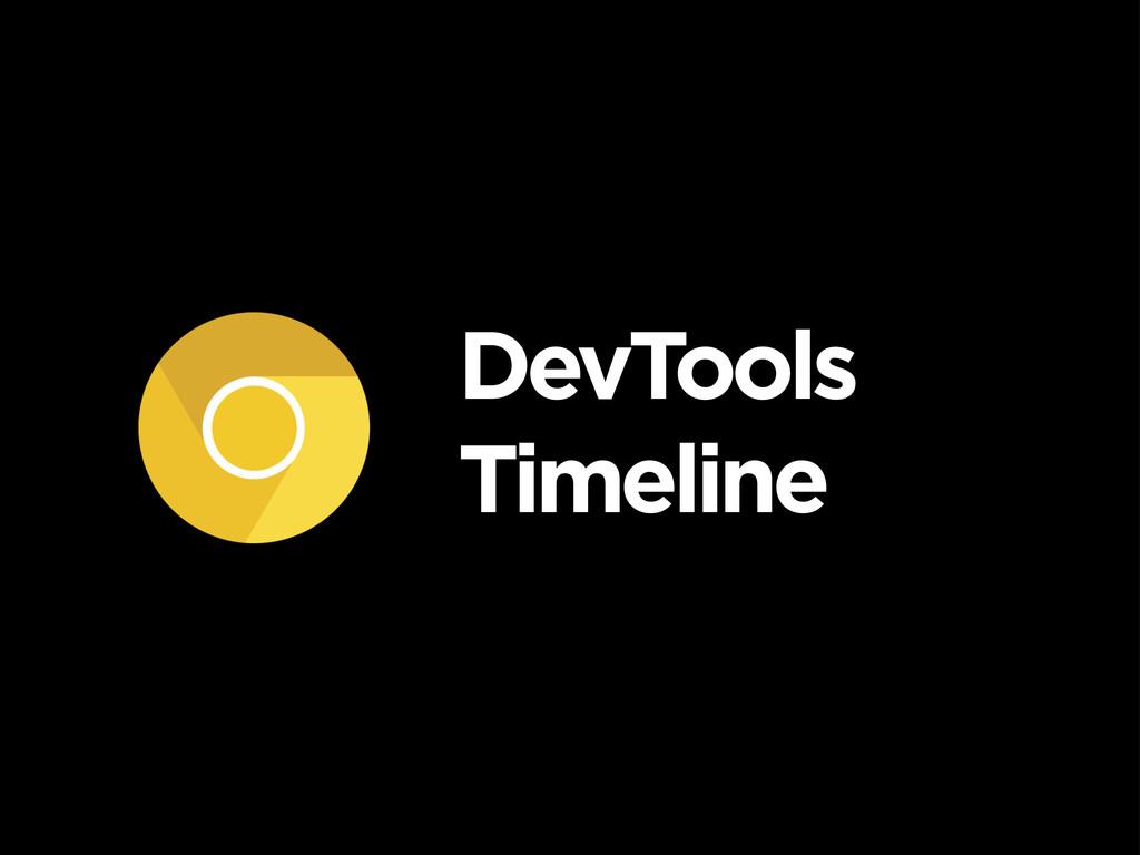 DevTools Timeline