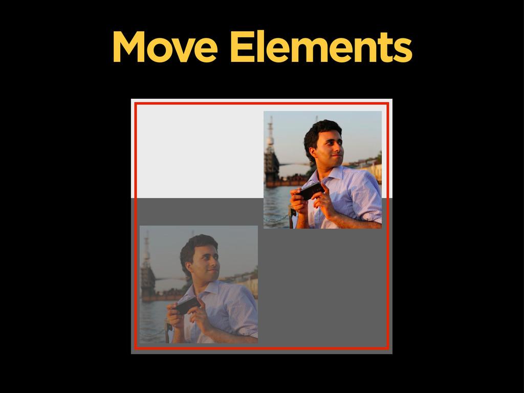 Move Elements