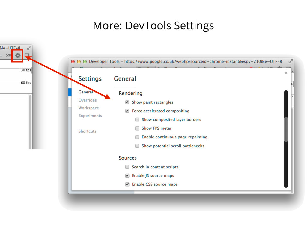More: DevTools Settings