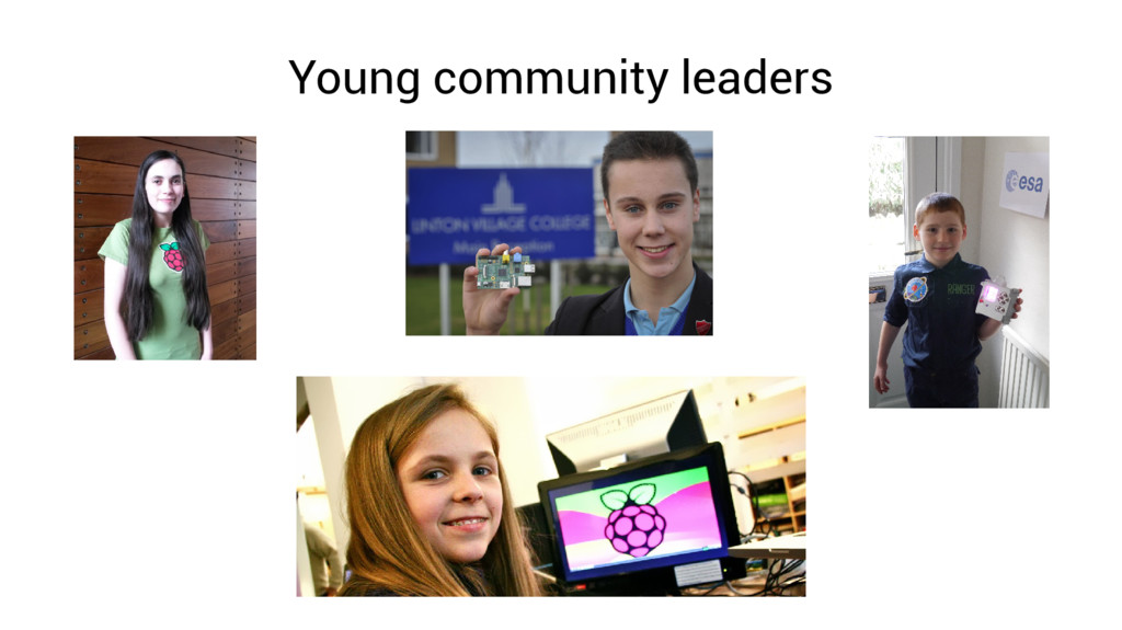 Young community leaders