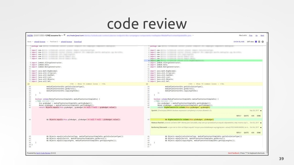code review 39