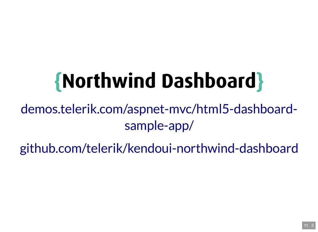 { {Northwind Dashboard Northwind Dashboard} } d...