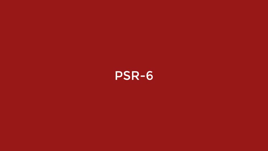PSR-6