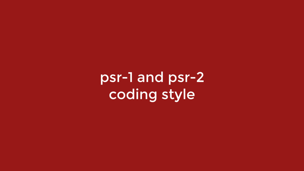 psr-1 and psr-2