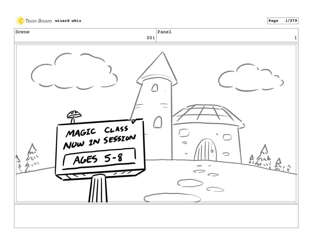 Scene 001 Panel 1 wizard whiz Page 1/279