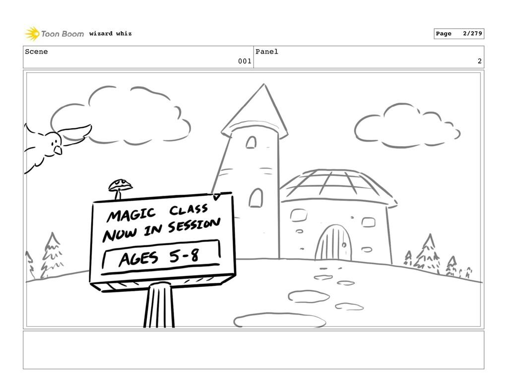Scene 001 Panel 2 wizard whiz Page 2/279