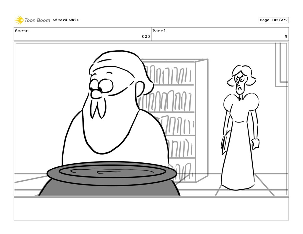 Scene 020 Panel 9 wizard whiz Page 102/279