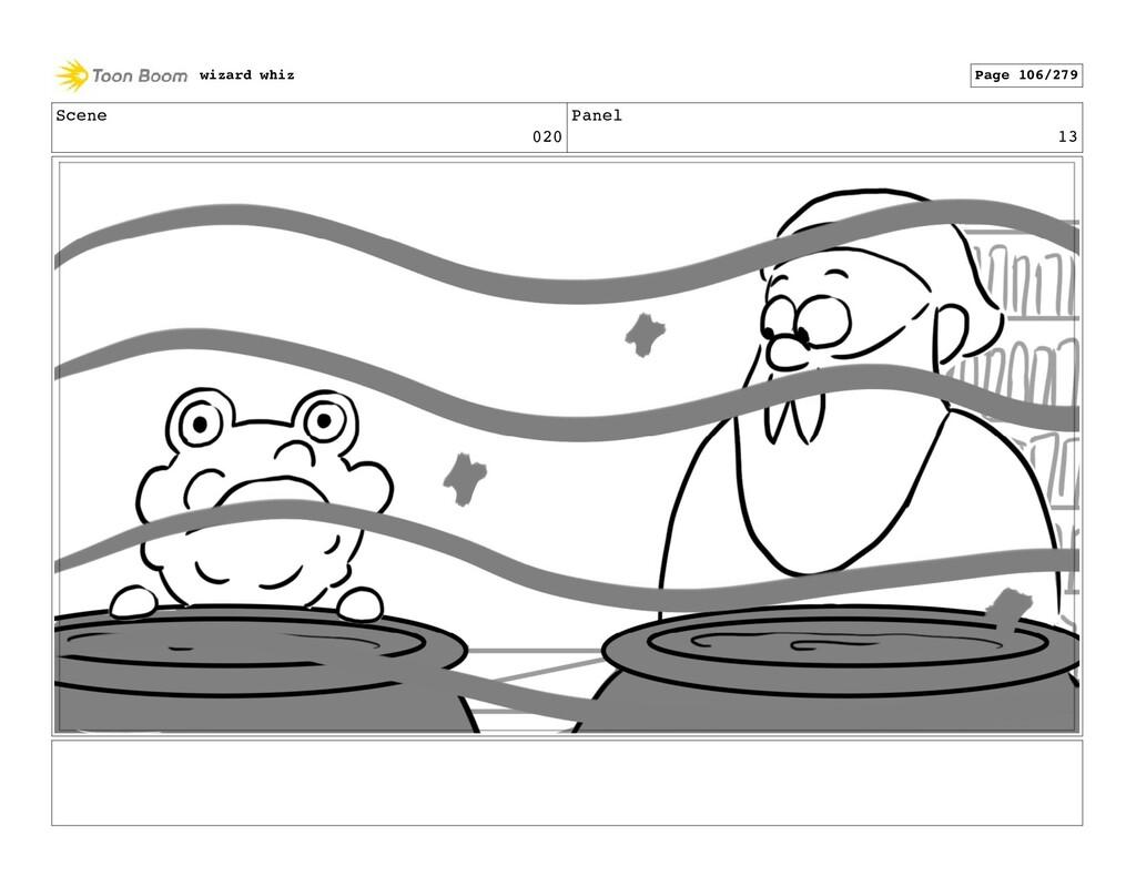 Scene 020 Panel 13 wizard whiz Page 106/279