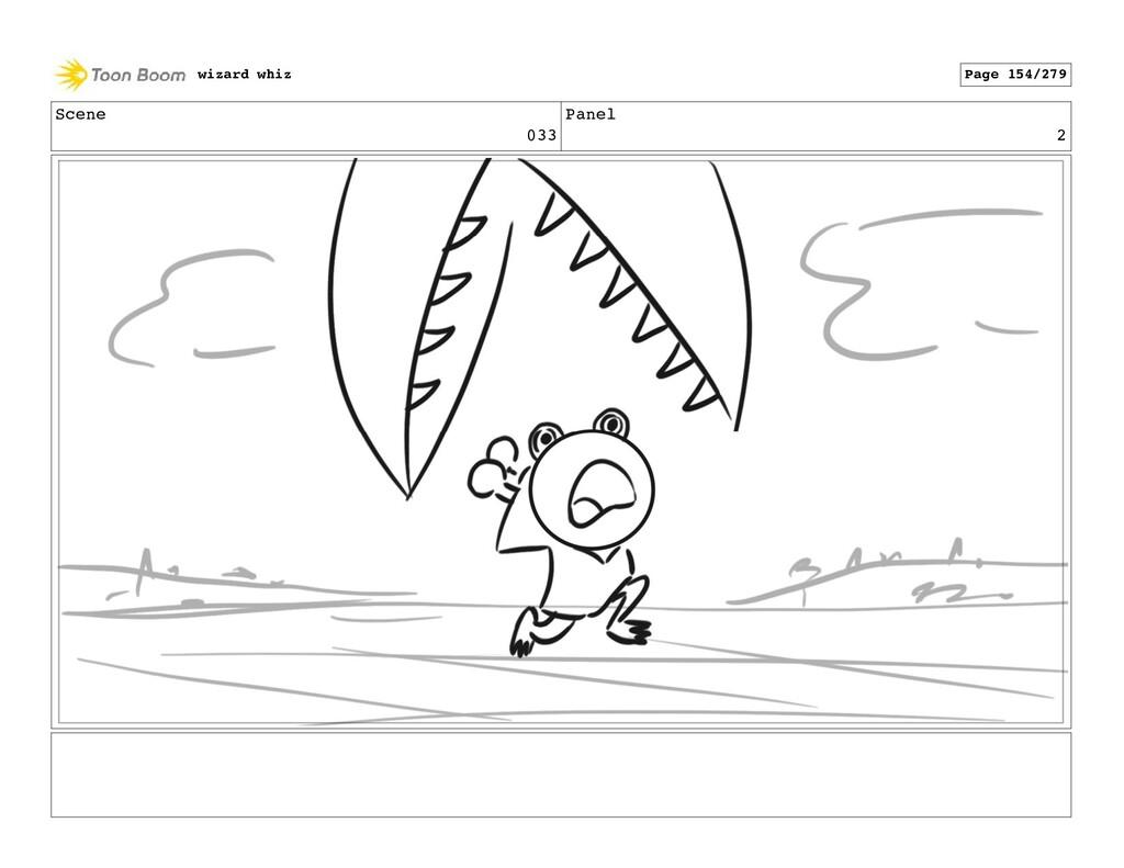 Scene 033 Panel 2 wizard whiz Page 154/279