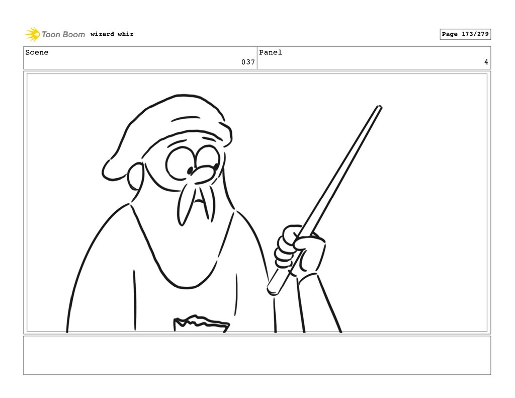 Scene 037 Panel 4 wizard whiz Page 173/279