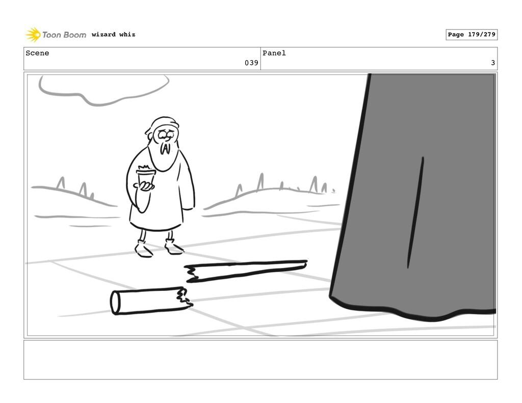 Scene 039 Panel 3 wizard whiz Page 179/279