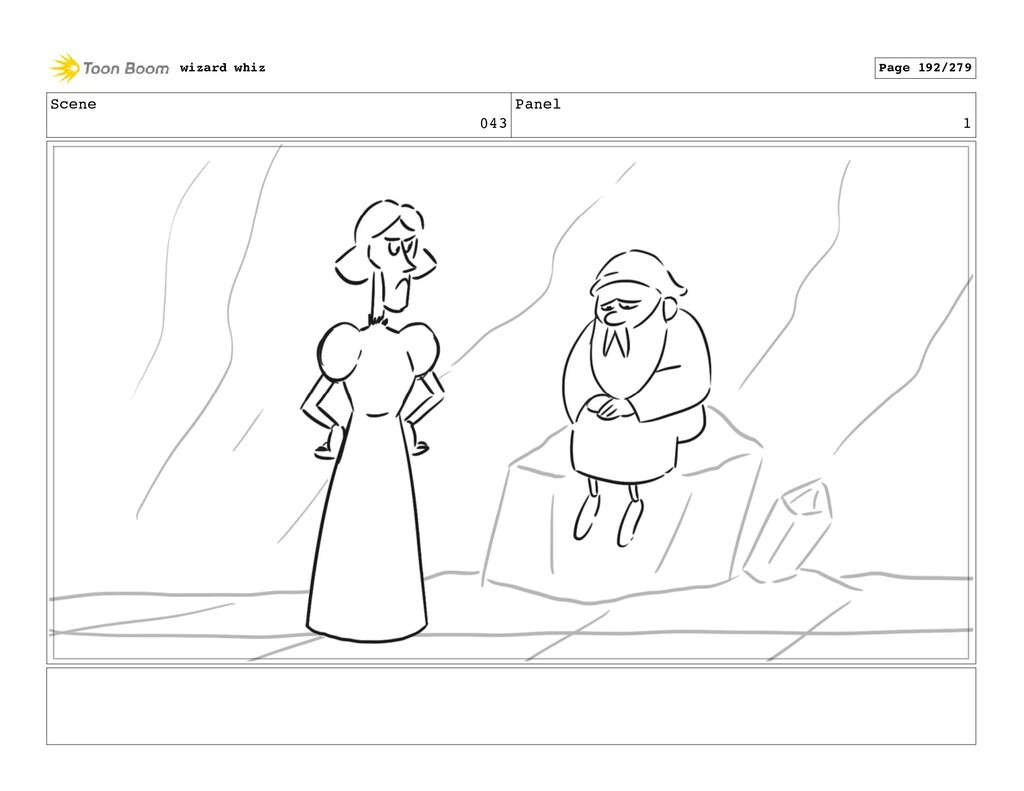 Scene 043 Panel 1 wizard whiz Page 192/279
