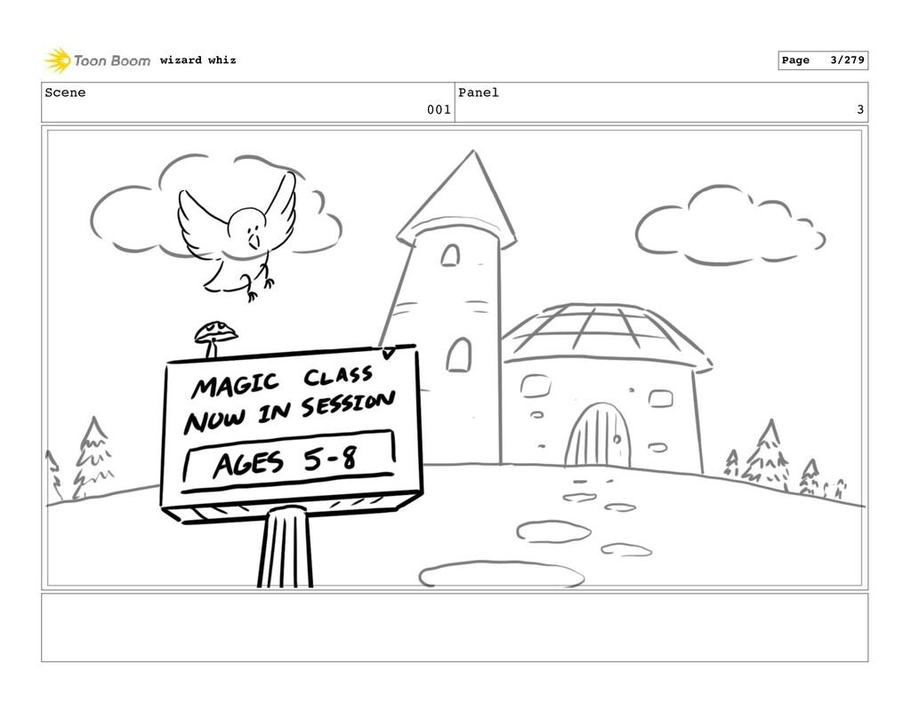 Scene 001 Panel 3 wizard whiz Page 3/279