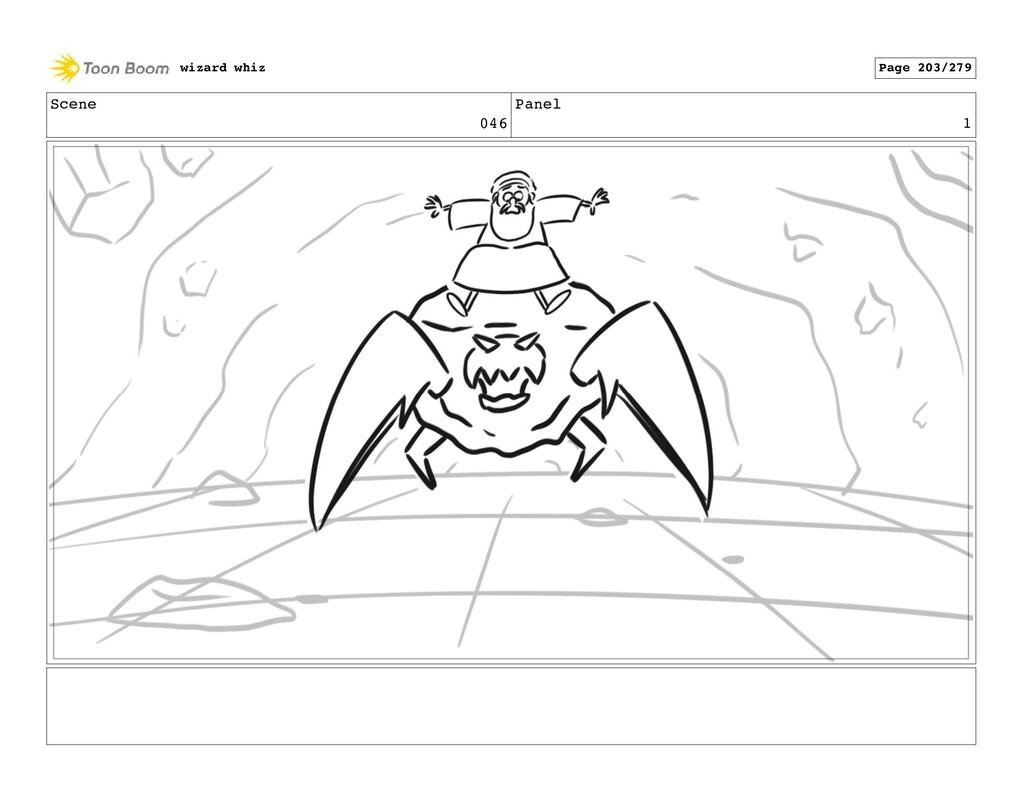 Scene 046 Panel 1 wizard whiz Page 203/279