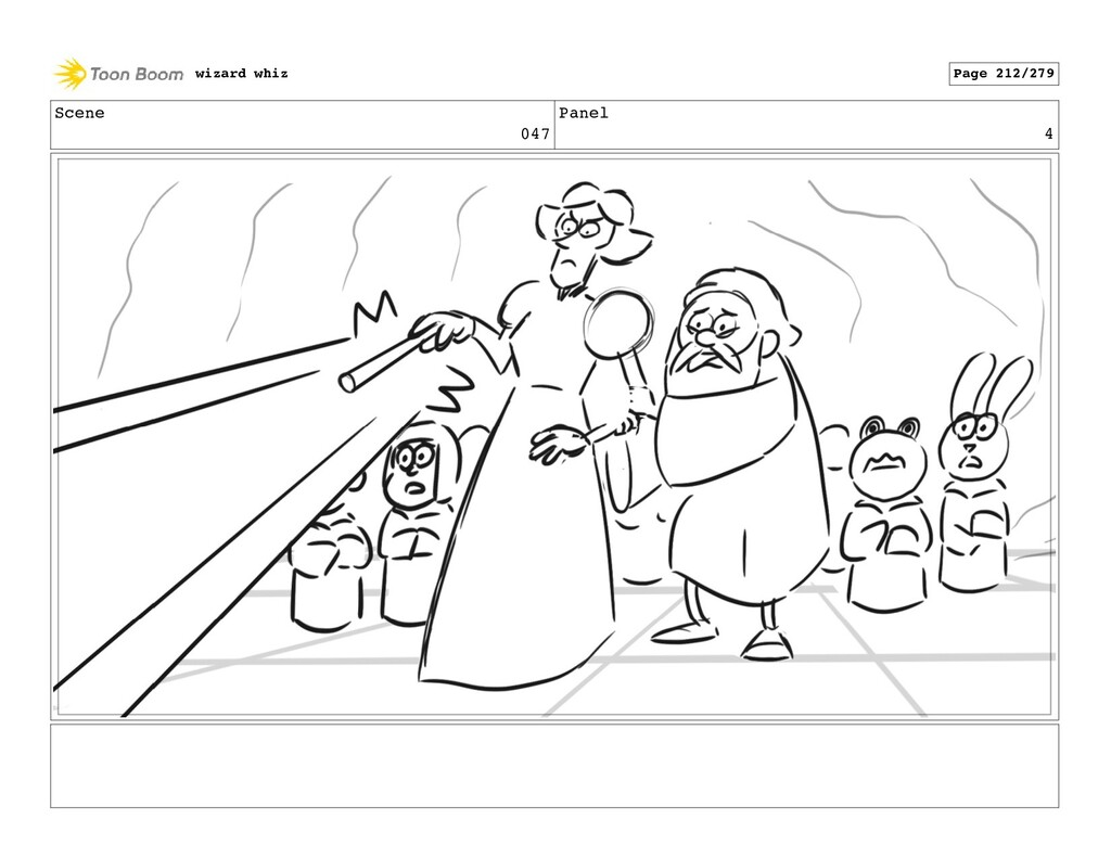 Scene 047 Panel 4 wizard whiz Page 212/279