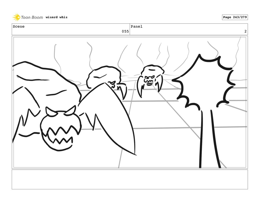 Scene 055 Panel 2 wizard whiz Page 243/279