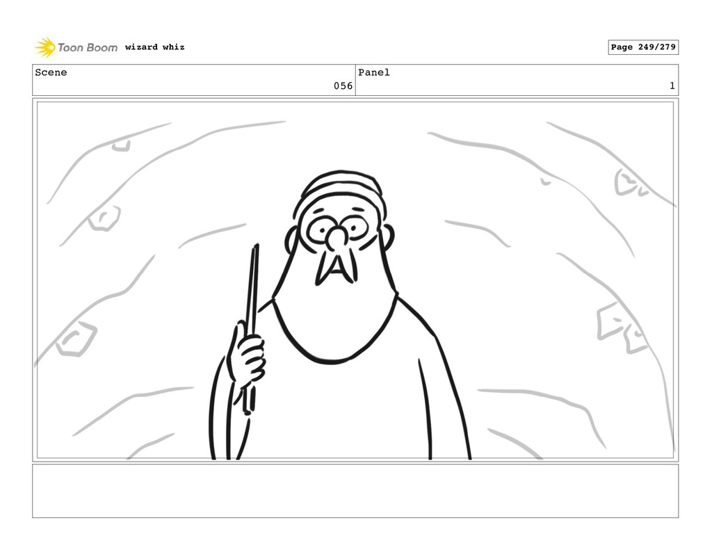 Scene 056 Panel 1 wizard whiz Page 249/279